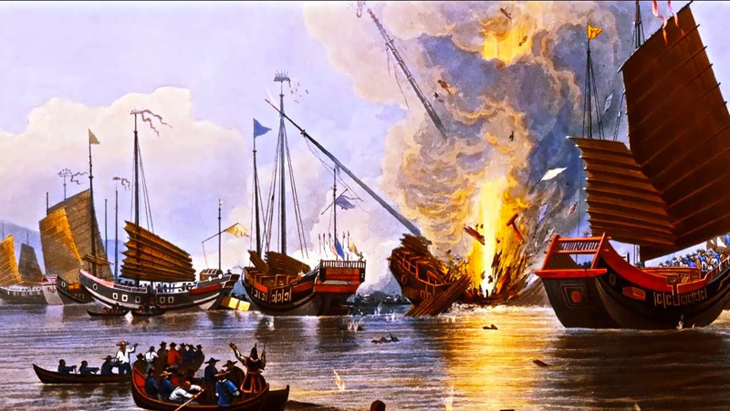 opium wars thesis The haitian war of independence, the french revolution, the opium war, the sepoy rebellion, world war i, the arab-israeli conflict, and the rwanda crisis.