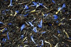Черный ароматизированный чай Черничная поляна / Tea Blueberry Meadow