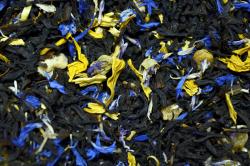 Черный ароматизированный чай Черника-манго / Tea Blueberry-Mango