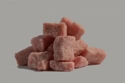 Сахар плодово-ягодный кусковой колотый с ароматом Вишни( 0,75 кг )