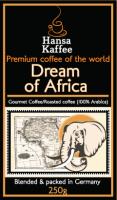 Кофе арабика зерновой Мечты Африки / Dream of Africa