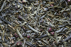 Зелёный ароматизированный чай Японская сакура / Japan Cherry Green
