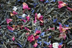 Зелёный ароматизированный чай Жар Птица / Green Tea Magic Bird