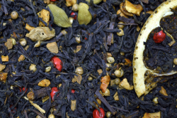 Черный ароматизированный чай Апельсиновые дольки / Orange slices